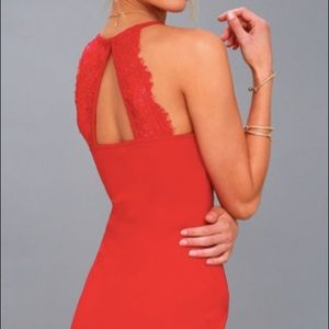 Lulu's Dresses - Red Lulu's Dress